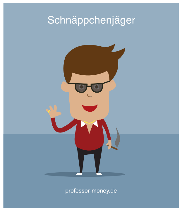 Grafik: Schnäppchenjäger
