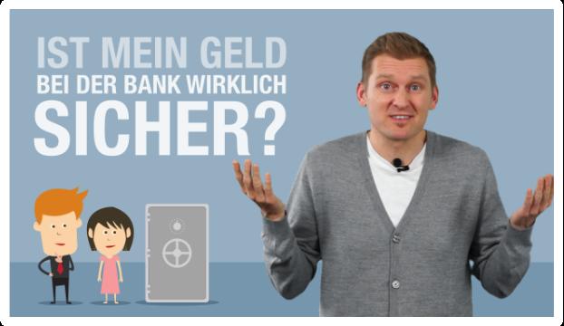 YouTube Video Thumbnail: Ist mein Geld bei der Bank wirklich sicher?